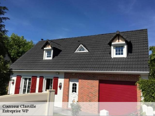Couvreur  clasville-76450